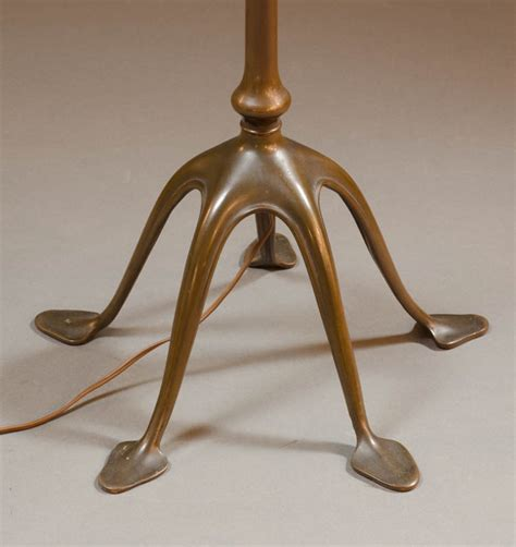 tiffany floor l base parts tiffany bronze and favrile glass floor lamp tiffa