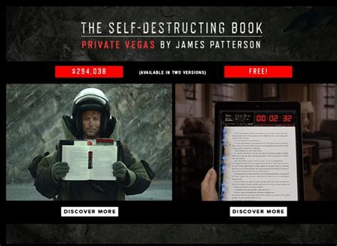 this story will self destruct books patterson gives away 1 000 free copies of self