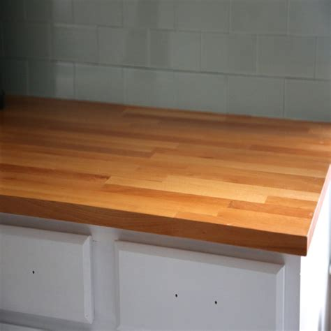 butcher block countertop finish how to finish ikea butcher block countertops weekend craft