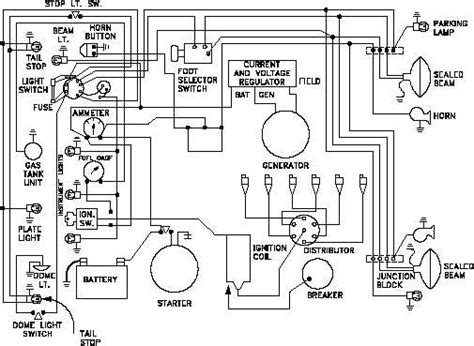 car electrical diagram figure 11 wiring diagram of a car s electrical circuit