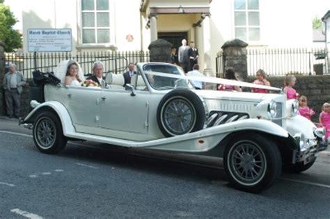 Wedding Car Newport by Beauford White Beauford Wedding Car In Newport Gwent