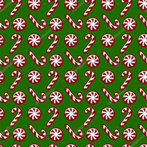 christmas pattern white background christmas pattern with candy canes vector seamless
