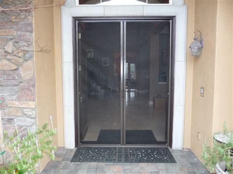sliding door screens brown screen doors for protection home doors
