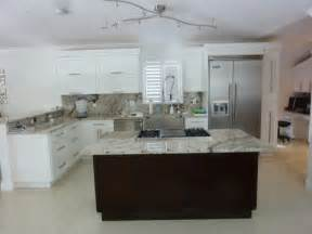 shaker style cabinetry contemporary kitchen miami