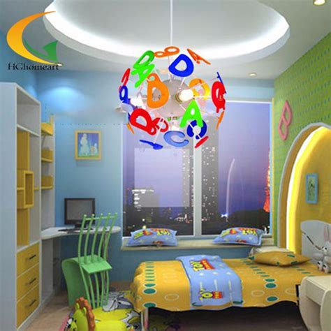 Simple Led Modern Lighting Kids ᗐ Bedroom Bedroom Pendant Childrens Bedroom Light