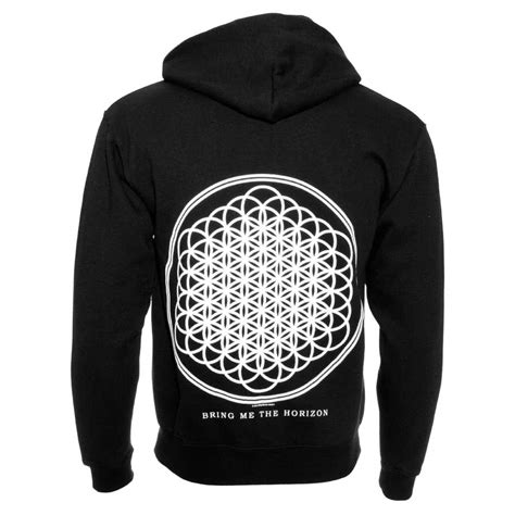 Vest Hoodie Bring Me The Horizon Bmth Jaket Rompi Yomerch bring me the horizon flower of hoodie official band