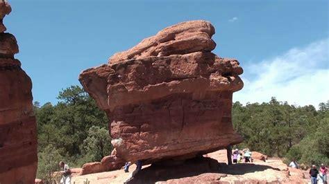 Garden Of The Gods Vs Rocks Balanced Rock Garden Of The Gods Colorado Springs