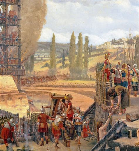le siege d alesia l h 233 ritage des grandes invasions quand les romains ont
