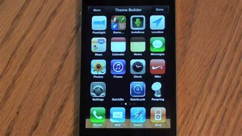 make themes for iphone create iphone and ipod touch jailbreak themes with