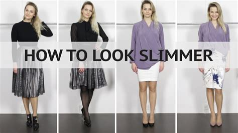 8 Ways To Look Skinnier In Just A Few Minutes by How To Look Slimmer Thinner Taller