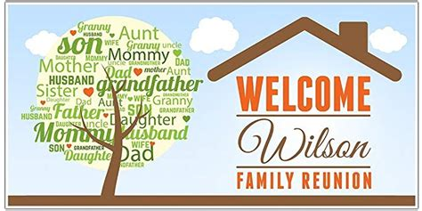 reunion banners design templates handmade gifts for family reunion gift ftempo