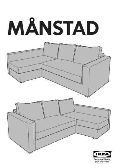 manstad sofa bed ikea ikea manstad corner sofa bed furniture user guide