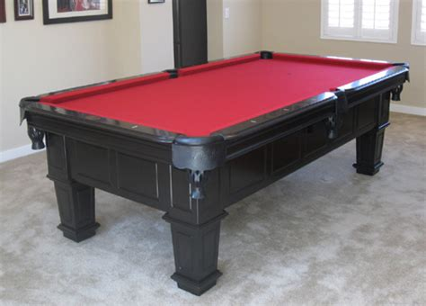 so cal pool tables gulf black pool table