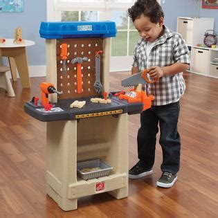 step 2 tool bench step 2 handy helpers workbench toys games pretend play dress up workshop tool lawn care