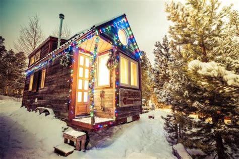 christmas decor for tiny house rvs tumbleweed houses
