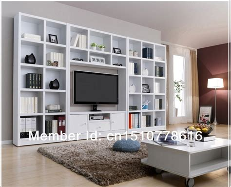 combination bookcase tv cabinet brief bookshelf tv cabinet
