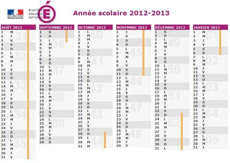 Calendrier Scolaire 2012 Et 2013 Ecole De Verny Les Vacances Scolaires 2012 2013