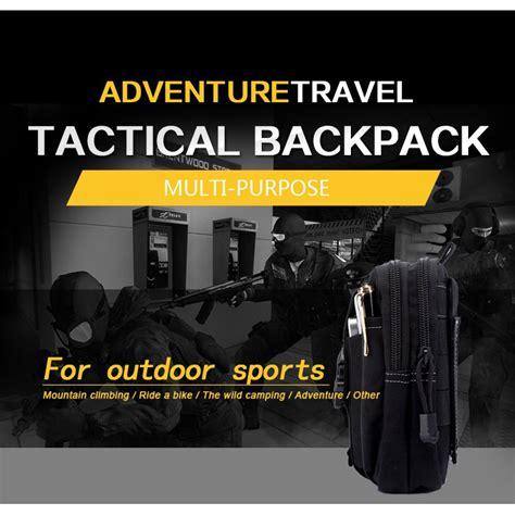 Tas Pinggang Tactical Black T1910 4 tas pinggang tactical black jakartanotebook