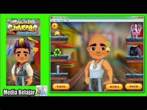 haircut games youtube subway surfers hair care bald haircut models playing