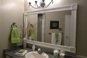 Custom Bathroom Mirror Bathroom Vanity With Custom Mirror Frame Contemporary Bathroom Toronto By Tlc Designs