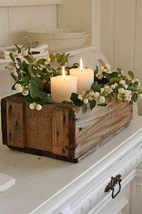 ideas  decorar la mesa navidena  velas