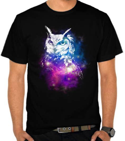 Kaos Galaxi jual kaos owl galaxy 3 galaxy satubaju
