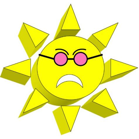sun ornament frowning sun ornament acrylic cut outs zazzle