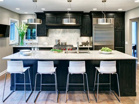 dark cabinets light countertops photo page hgtv