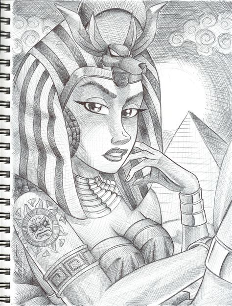 tattoo pen in egypt egyptian goddess by anubis2kx on deviantart