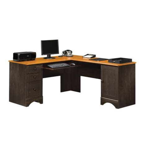 Sauder Corner Computer Desk with Sauder Harbor View Corner Computer Desk 403794 Free Shipping