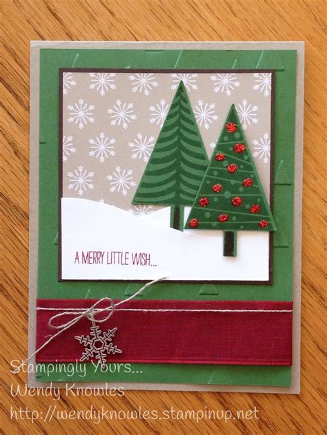 Handmade Tree Cards - 176 best images about 2014 stin up catalog on