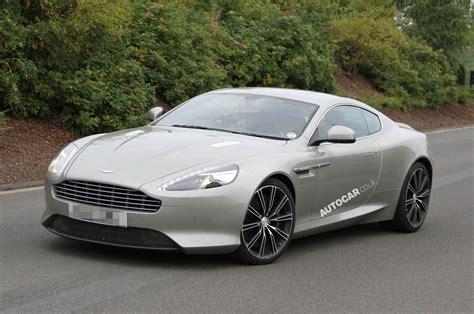 New Aston Martin DB9 spied undisguised   Autocar