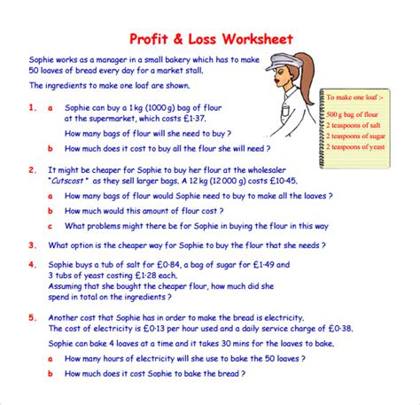 profit and loss template 20 download free documents in
