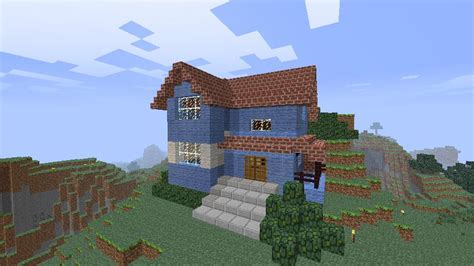 country side house modern countryside house minecraft project