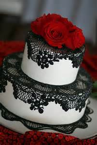 memorable wedding find the best red black and white wedding cakes