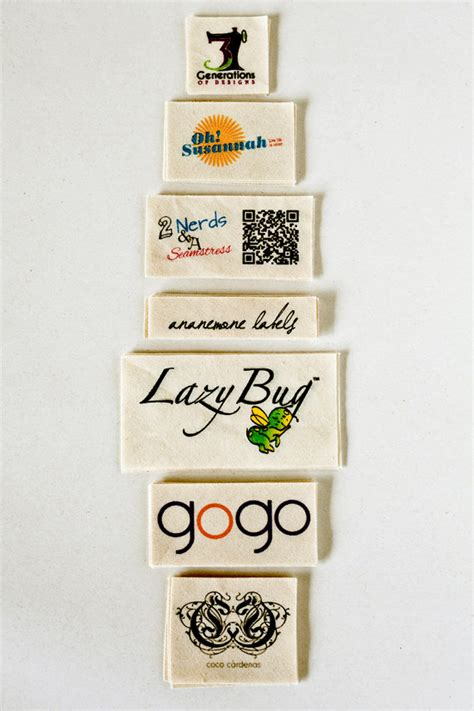 Personalized Sewing Labels Handmade - fabric labels custom clothing tags sewing and