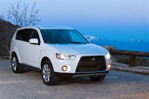 Mitsubishi Outlander Specs 2012 Mitsubishi Outlander Review Specs Pictures Mpg Price