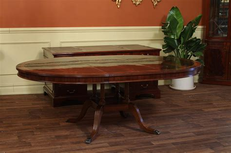oval table with leaf high end 60 round mahogany duncan phyfe dining room table