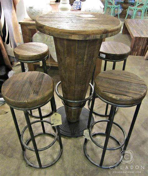 bar table and stools morella wood pub table 599 1225 51003416 i celadonathome