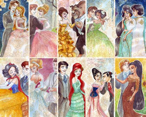 painting for princess desinger princess colage disney princess fan