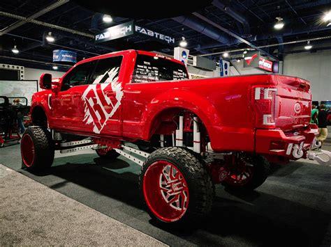 ford super duty custom trucks  sema