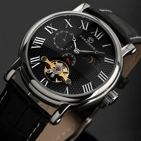 Skmei Jam Tangan Digital Pria Dg1139 Black 62own5 ess luxury leather automatic mechanical