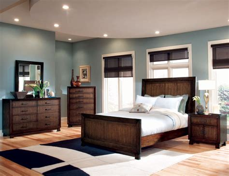 Bedroom Color Ideas With Brown Furniture Master Bedroom Decorating Ideas Blue And Brown Room