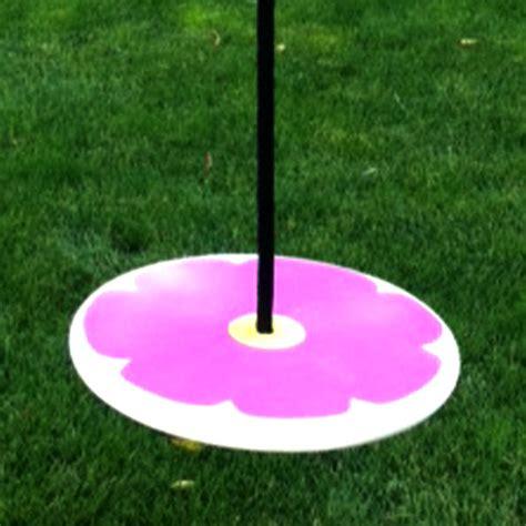 disc swing for tree swings for kids purple flower wood rope swing order now