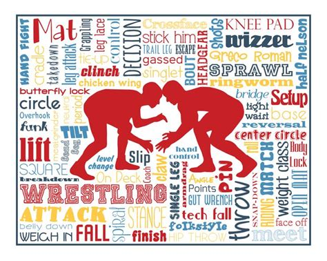 printable wrestling quotes original artwork using words to describe quot wrestling