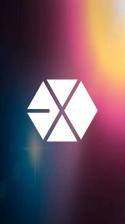 exo logo wallpaper exo amino