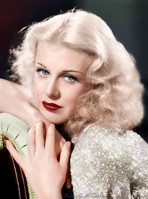hair and makeup on deceased ginger rogers ginger rogers fan art 35689625 fanpop