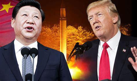 trump china north korea trump china north korea china hits back at trump criticism
