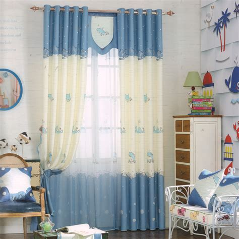 billige gardinen dolphin patterns blue cheap drapes and curtains