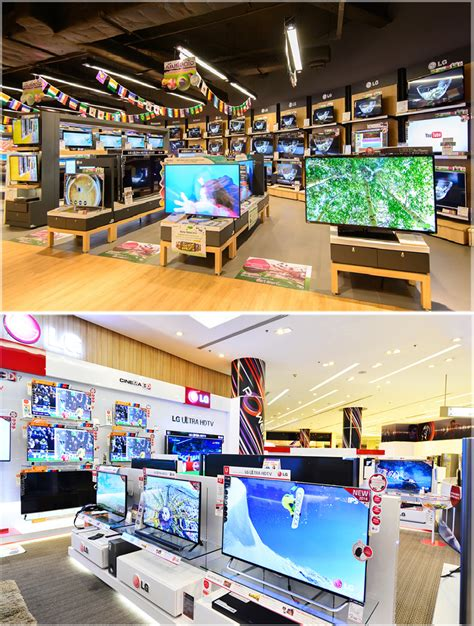 layout toko komputer desain interior toko elektronik yang menarik pengunjung